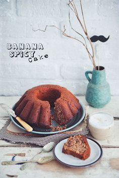 Spicy Banana Cake (Polish Recipe)