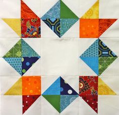 Inverted Star Quilt Block - Free Tutorial + How to Make a Jelly-Star Quilt Block - Suggested for BEGINNER