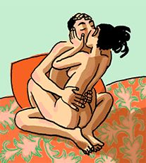 Old Erotic Art   My favorite position but I am too fat.