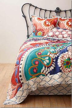 I fell in love with this duvet from anthropologie and had to have it:-)
