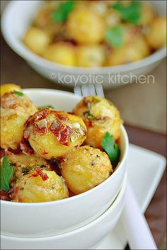 Dutch Potato Gratin...these look sinfully delicious!