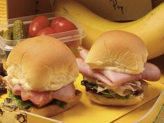 foodnetwork sandwich recipes with pictures | ham club sandwich sliders