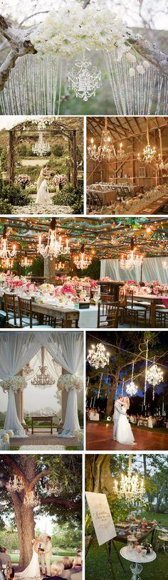 wedding decorations, lighting ideas, dream wedding, backyard weddings, outdoor weddings