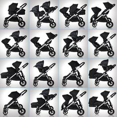 Baby Jogger City Select Stroller - not sure if I need a double stroller but this one looks great