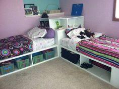 idea, bunk beds, girl bedrooms, kid rooms, boy rooms