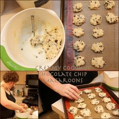 Creamy Chocolate Chip Macaroons on paleoparents.com
