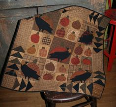 crow quilt pattern - Google Search