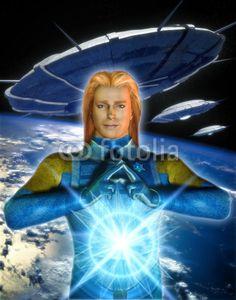 UFO: alien ashtar sheran, art by Luca Oleastri - www.innovari.it