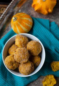 Pumpkin Pie Spice Cake Doughnut Bites » A Southern Fairytale