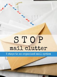 End Mail Clutter --
