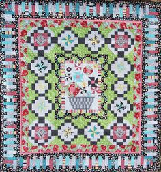 Poppy Love Quilt Kit - Clubhouse 2013 by Swirly Girls Designs
