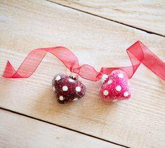 Pier 1 Mini Heart Ornaments bring their own charm