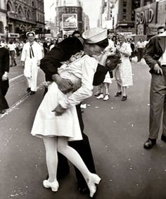 Time Square Kiss - all time favorite pic