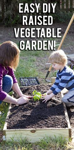 Easiest ever raised garden beds!