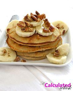 Paleo Banana Pecan Pancakes