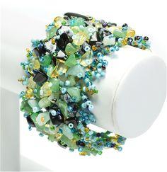 #Beaded #Gemstone #Bracelet Cabo #jewelry