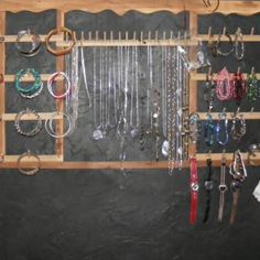 If you have a number of spool racks around the house, check out this very creative way you can use them for jewelry racks. - Capper's Farmer Magazine
