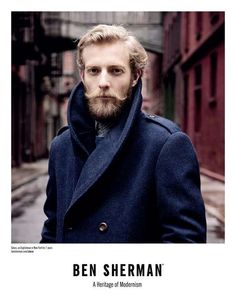 The Ben Sherman Fall 2011 Line Captures Authentically Stylish Men #suits #mensfashion trendhunter.com