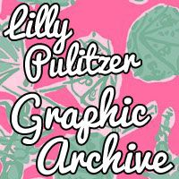 Lilly Pulitzer Graphics. What?!?! THIS WEBSITE IS HEAVEN.