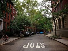 the twisty streets of Greenwich Village. I spent years there, and I still could get lost.  I would love to take a trip back there and spend the day sitting in cafes, strolling the tree lined streets and people watching.