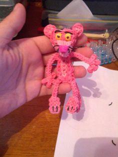 Rainbow loom Pink Panther