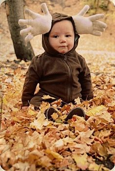 30 Unexpected Halloween Costumes You Can DIY #cute #costume #moose #baby #kid  #DIY #budgettravel #travel #halloween #budget www.budgettravel.com