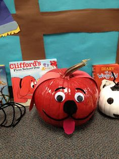 Clifford Pumpkin Book and Others