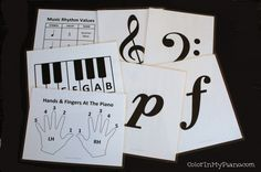 teaching music printables
