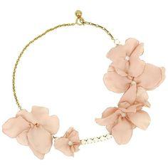 LANVIN Petal Pearl Necklace