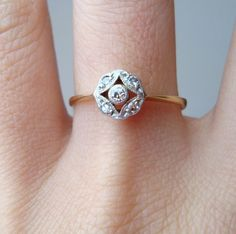 vintage wedding ring #dental #poker