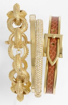Trend to Try: Stacked Bangles