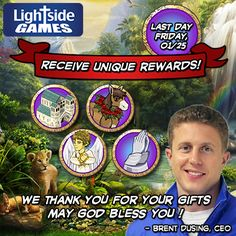 LIKE and SHARE if JESUS is your EVERYTHING!    Last Chance! Sale Ends This Week!  Don't miss out on this wonderful opportunity to get permanent Energy upgrades, Extra XP's, and More! Sale Ends Soon! Thank you for your support! God Bless!