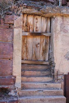 Door to ??? in Jerome, Arizona
