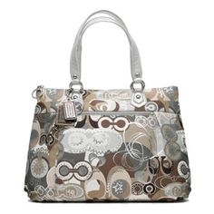Coach Poppy Pop C glam tote - limited edition