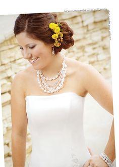 Grand Strand #Necklace #SilpadaStyle #Bridal #Wedding