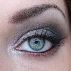 smokey grey eyes