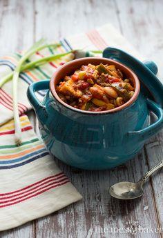 #WeekDaySupper Harvest Chili Bowls Recipe | www.themessybakerblog.com