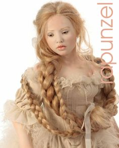 Hildegard Gunzel - 2012 Porcelain Collection   Rapunzel