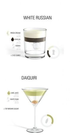 drink recipes.