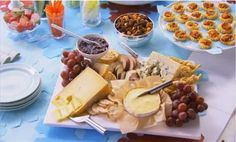 Watch How to Assemble a Cheese Tray.
