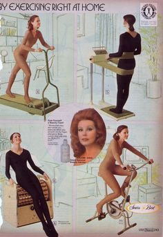 """""""exercising"""" at home!"""