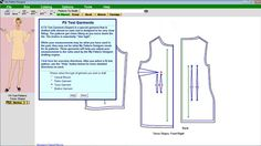 Free download of My Pattern Designer pattern software. You can print bodice, pants, torso, and casual blouse slopers customized to your precise measurements in the free version. [LIMITED DEMO VERSION ONLY]