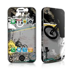 iPhone 4 Skin - The Zone by DecalGirl Collective