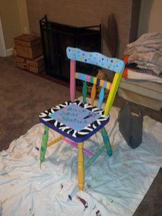 Rock Star Status Chair
