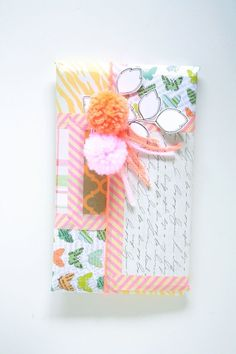 washi tape wrapping #washitape #packaging