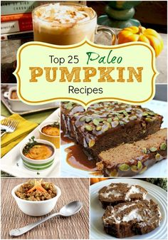 Top 25 Paleo Pumpkin Recipes! www.PrimallyInspired.com #paleo #pumpkin