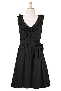 front cotton, ruffl front, fashion dresses, cloth, bridesmaid dresses