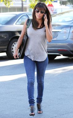 The actress-producer goes on a groceries run in heels at a Ralphs market in L.A.