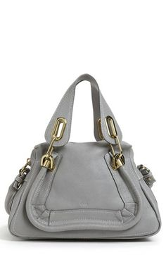 Chloé 'Paraty - Small' Leather Satchel available at #Nordstrom