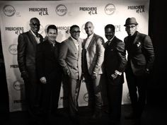 Preacher of L.A. cast at NYC Luncheon.